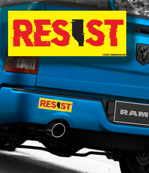 "RESIST Stickers 3x8"" (2)"