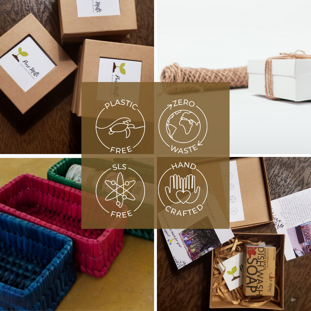 Pure Mitti sustainable packaging