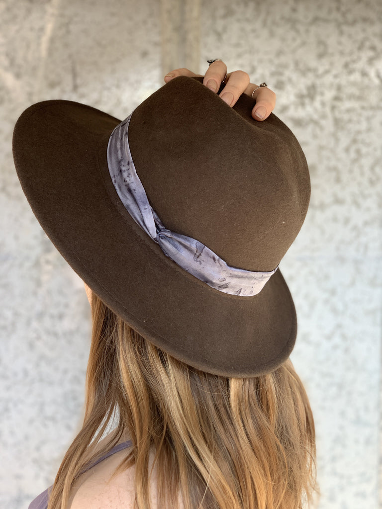 The Hatband: Purple Tones