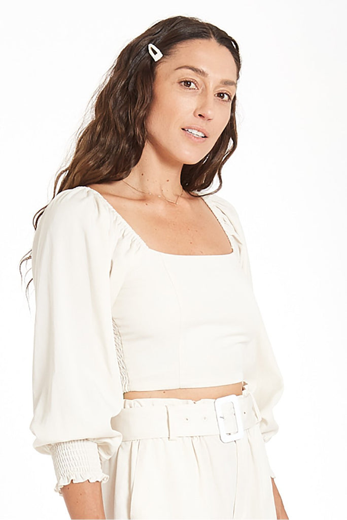 Liv Crop Top | Solid