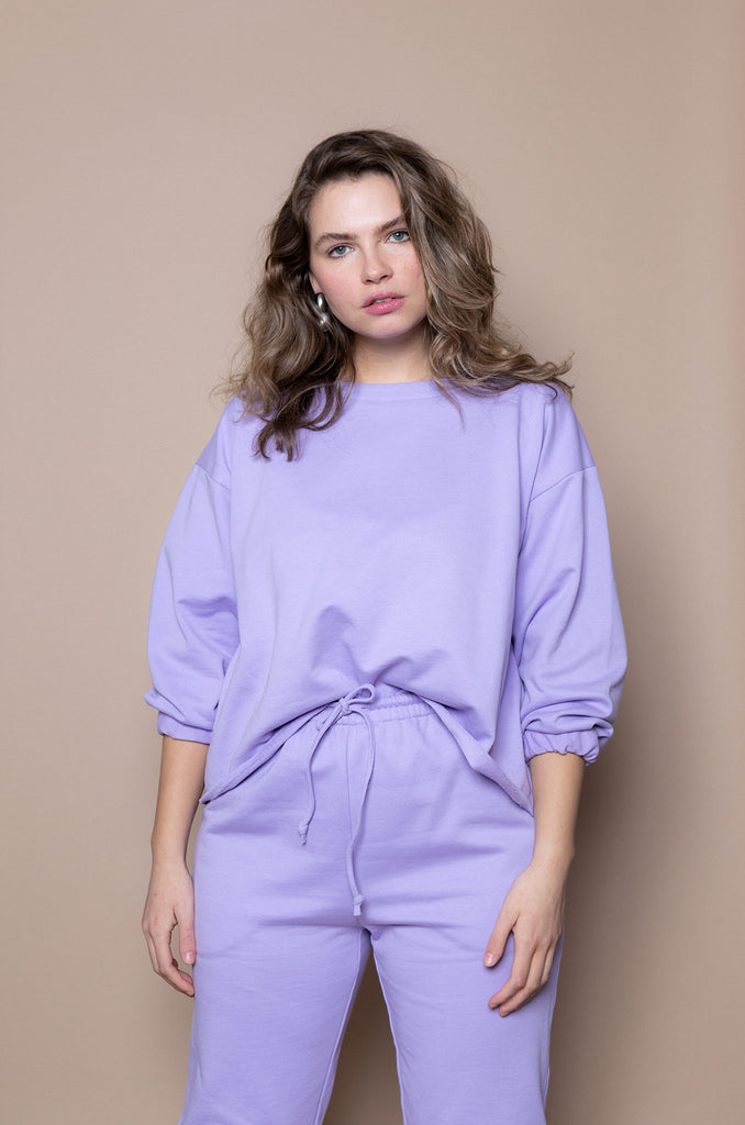 The Taper Jogger – Lilac