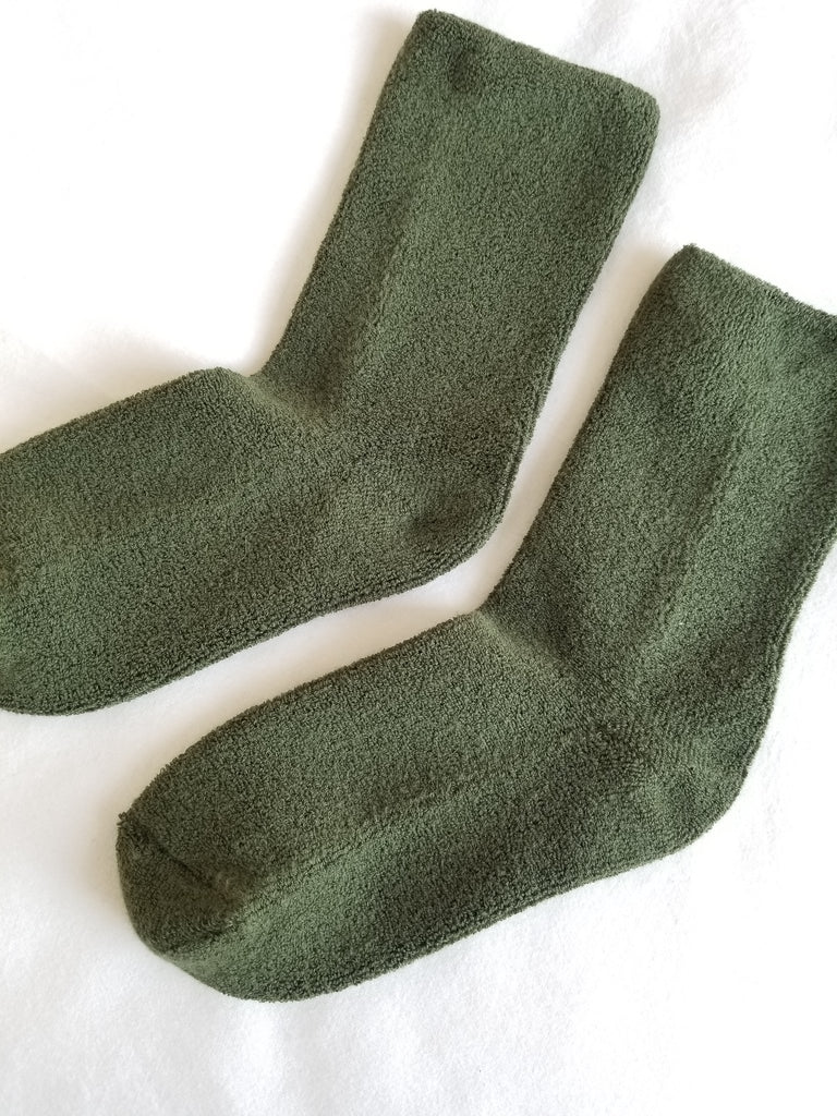 Le Bon Shoppe Cloud Socks - Forest