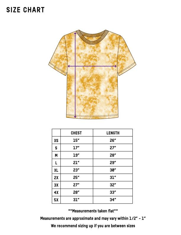 Static Dye T-Shirt - Pottery