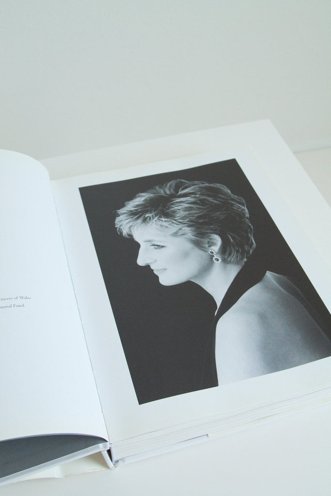 "Y2K ""Diana: The Portrait"" book"