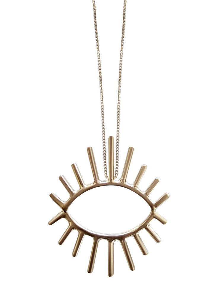 Double Lash Necklace