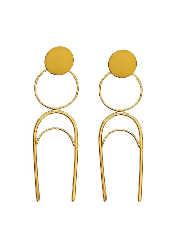 Tune the Moon Earrings