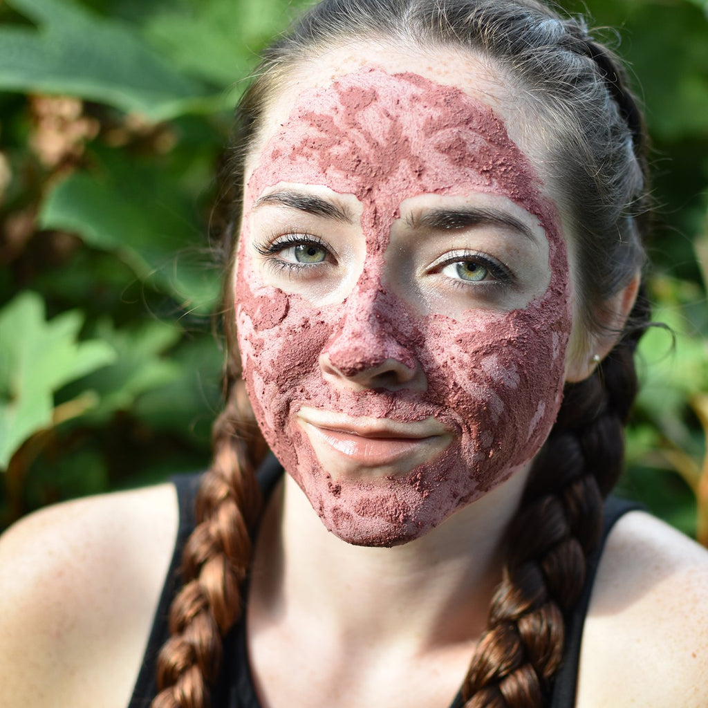 Radiant Rose · Herbal Clay Face Mask