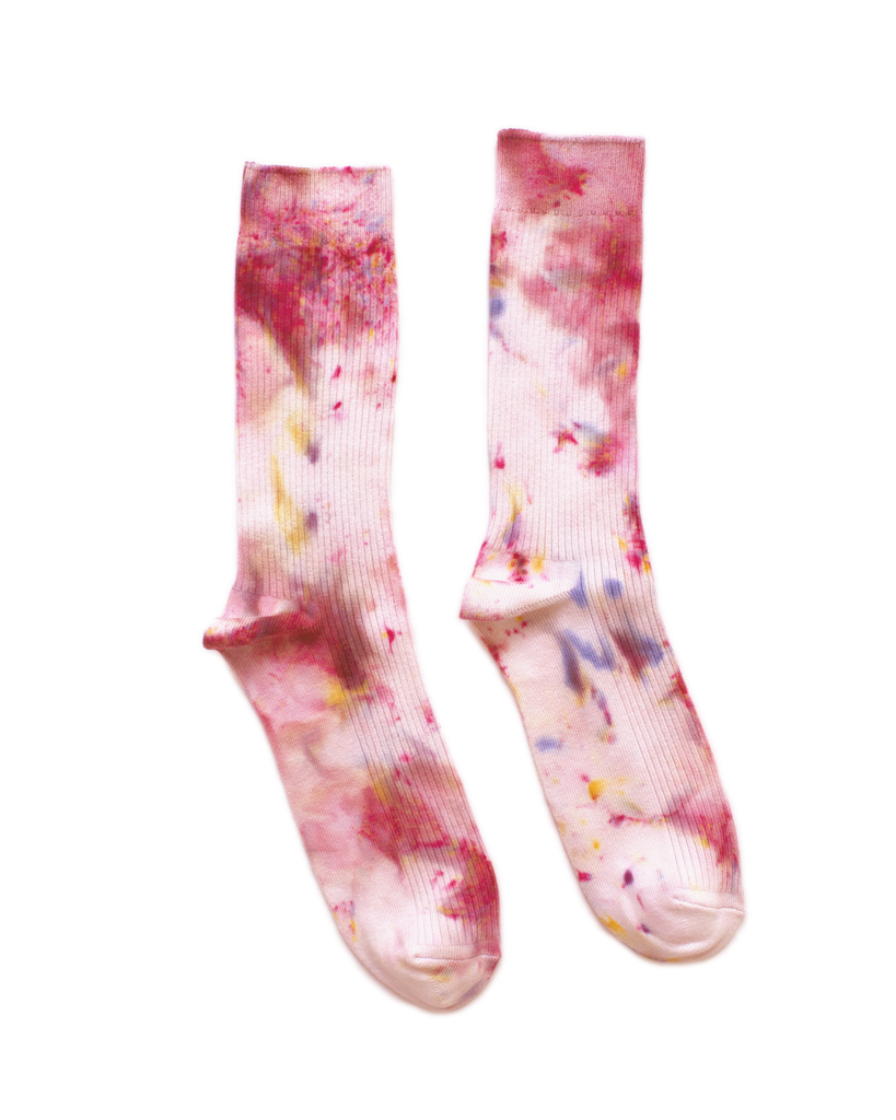Dust Dye Socks - Tea Rose