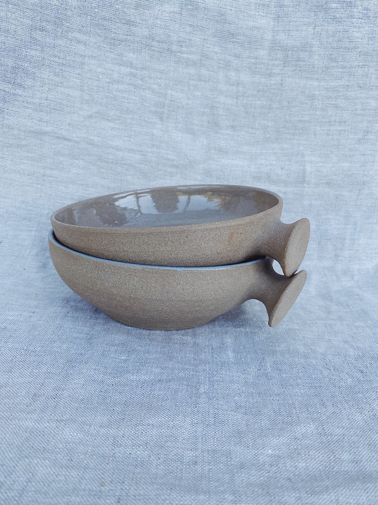 Knob Bowl in Natural