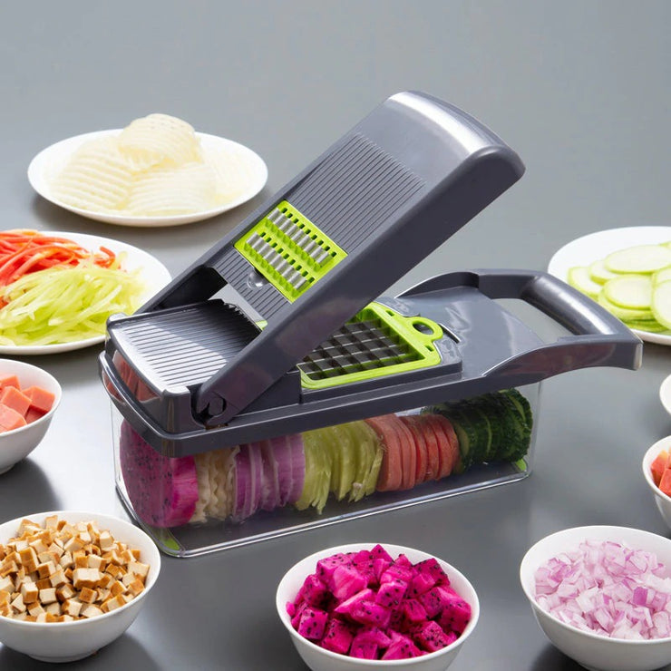 Multifunctional Mandoline Vegetable Fruit Shredder Slicer - IBestGadgetis