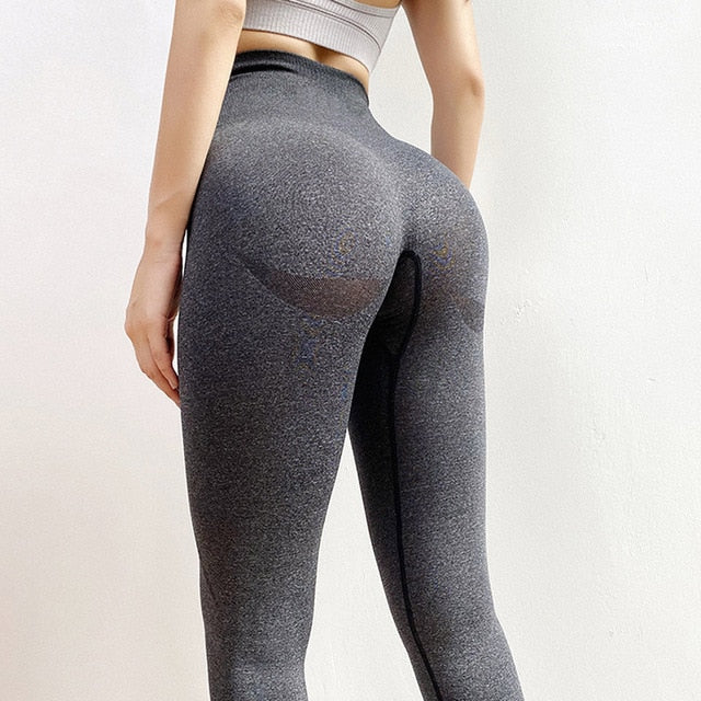 New vital seamless leggings for women workout gym legging high waist fitness yoga pants butt booty legging sports leggings - IBestGadgetis