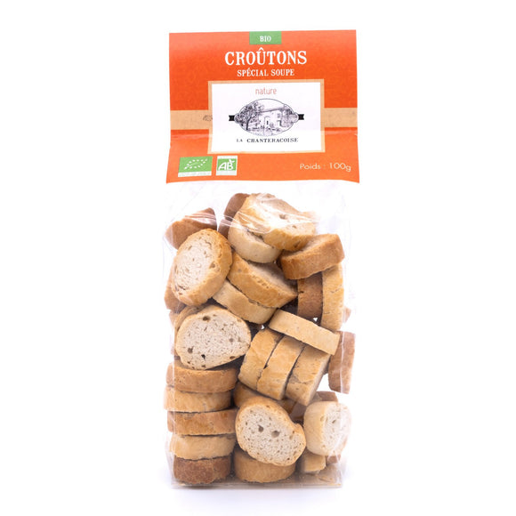 Croutons Nature Bio 100g