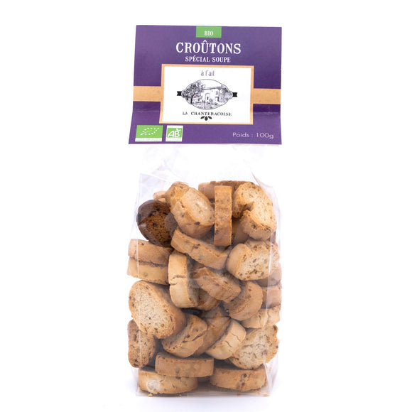 Croutons Ail Bio 100g