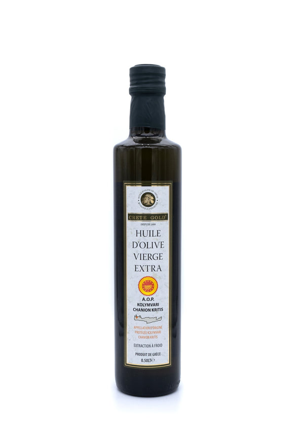 Huile d'olive Vierge Extra IGP Chania Crète 50cl