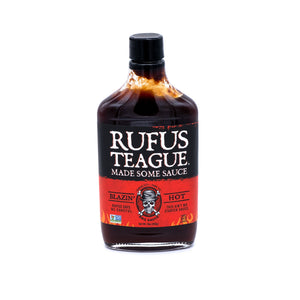 Sauce Blazin' Hot Rufus Teague 454g