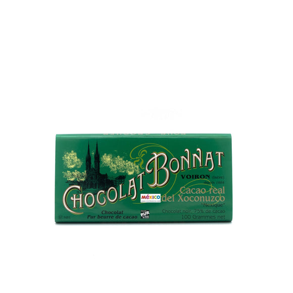 Tablette Chocolat Noir Bonnat - Real Del Xoconuzco 100g