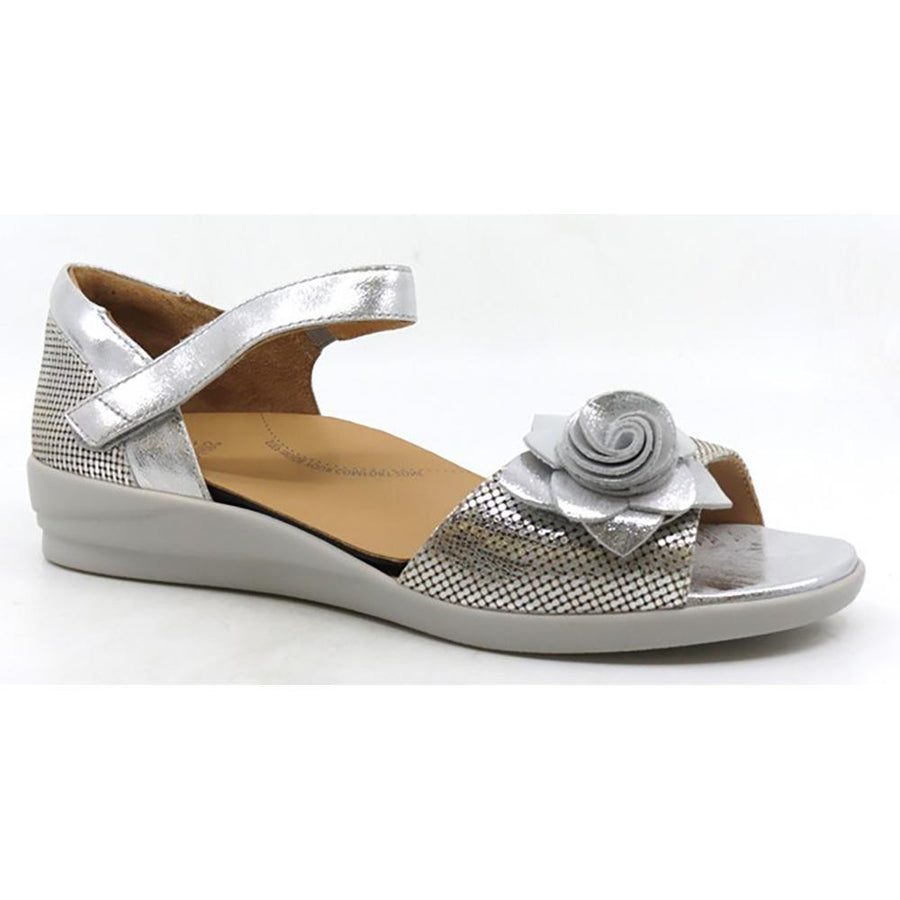 Women's Ziera Delta in Silver Cut Leather sku: ZR10107SIL19