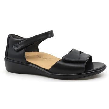 Women's Ziera Donal in Black Black Print Leather sku: ZR10108BGMLE