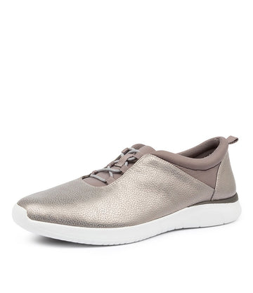 Women's Ziera Fox in Grey Brush Leather sku: ZR10004GVJLE