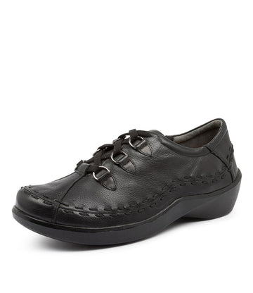Women's Ziera Allsorts in Black Leather sku: ZR10017BLALE