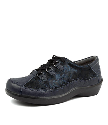 Women's Ziera Allsorts in Navy Swirl Leather sku: ZR10207DG8HG