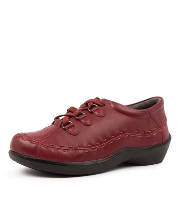 Women's Ziera Allsorts in Rouge Trooper Leather sku: ZR10017RAPLE