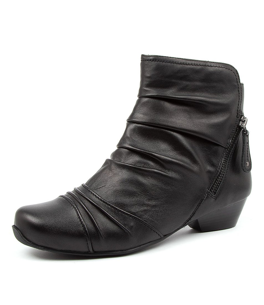 Women's Ziera Camryn in Black Leather sku: ZR10022BLALE