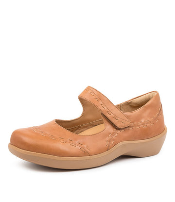 Women's Ziera Gummibear in Tan Leather sku: ZR10029TANLE