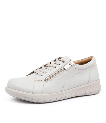 Women's Ziera Solar in Fog Leather sku: ZR10058GGCLE