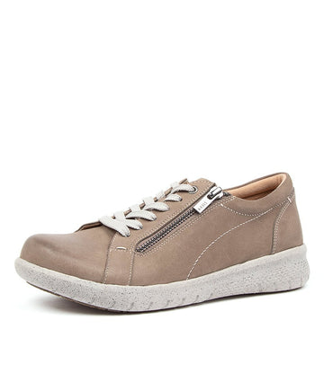 Women's Ziera Solar in Taupe Leather sku: ZR10058NGVAG