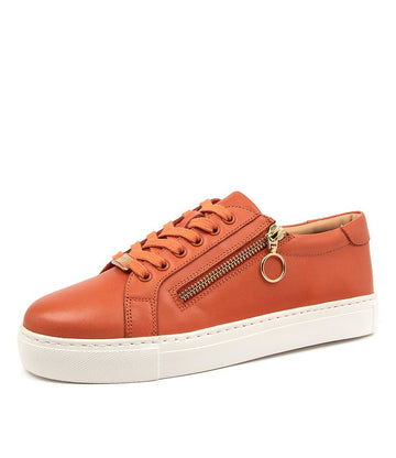 Women's Ziera Pamela in Paprika Leather sku: ZR10059O49LE