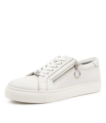 Women's Ziera Pamela in Optic White Leather sku: ZR10059WNXLE