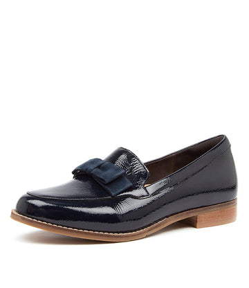 Women's Ziera Talise in Navy Patent Suede sku: ZR10062DBYHO
