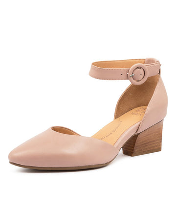 Women's Ziera Vanita in Blush Leather sku: ZR10063P00LE