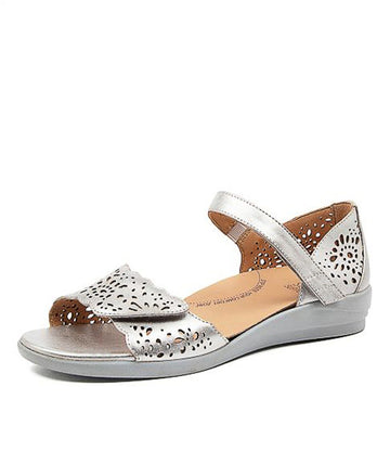 Women's Ziera Dusty in Silver Leather sku: ZR10069SILLE
