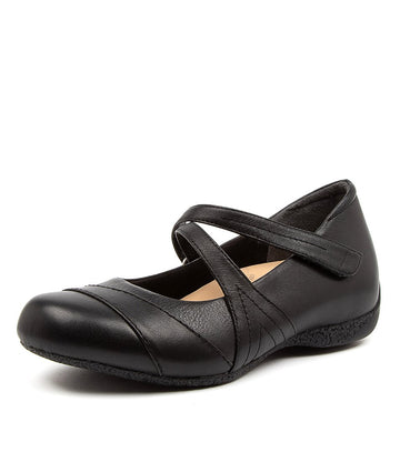 Women's Ziera Xray in Black Leather sku: ZR10075BLALE