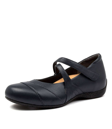 Women's Ziera Xray in Navy Leather sku: ZR10074DBYLE