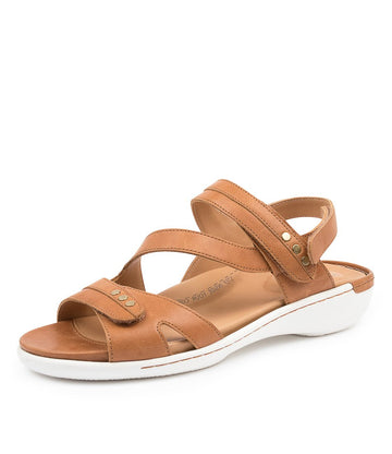 Women's Ziera Beaux in Tan Leather sku: ZR10091TANLE