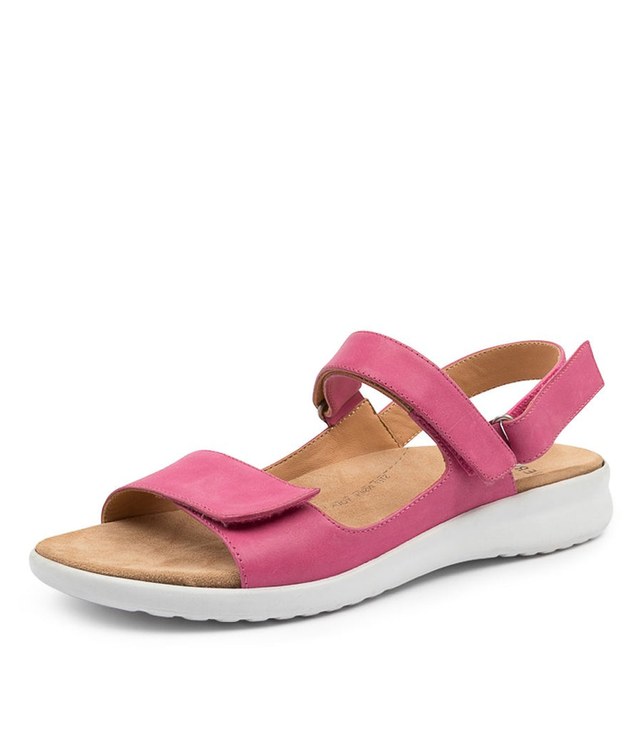 Women's Ziera Benji in Fuchsia White Sole Leather sku: ZR10096PKULE