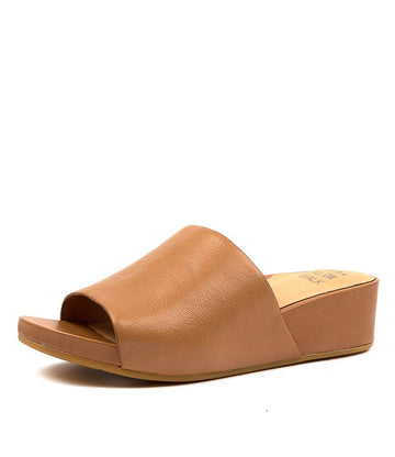 Women's Ziera Marcy in Dark Tan Leather sku: ZR10138TAOLE