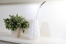 Load image into Gallery viewer, White Vase next to green plant