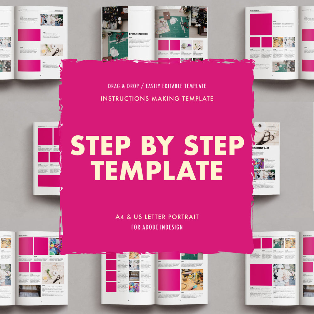 Mclean Design Co | Step by step Instructions Builder