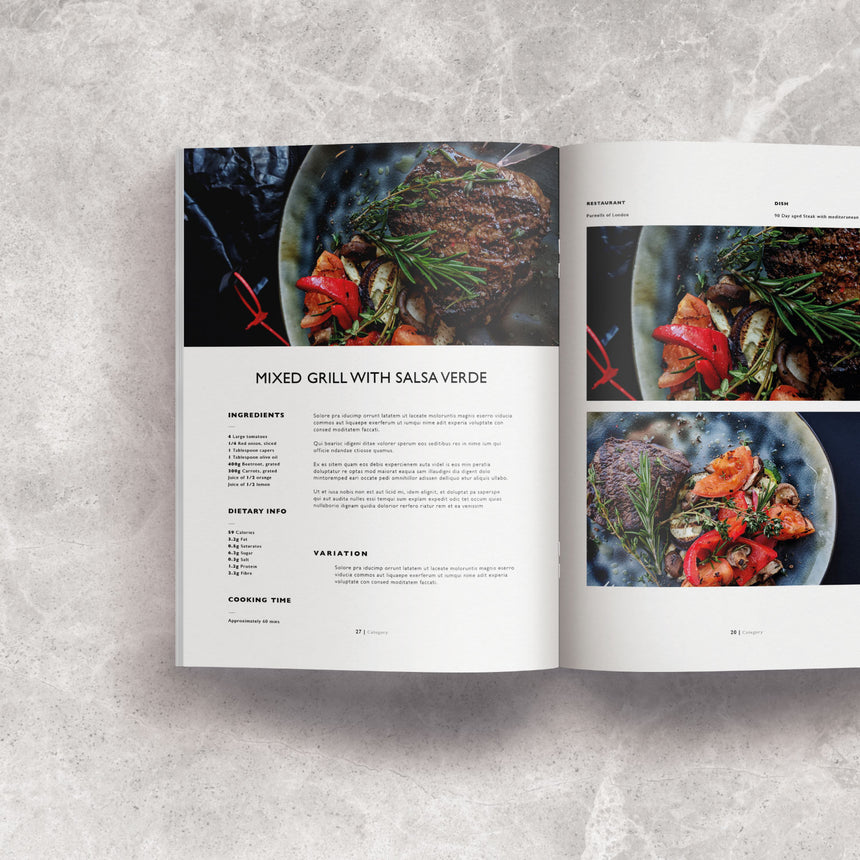 Mclean Design Co | Cookbook Style Template