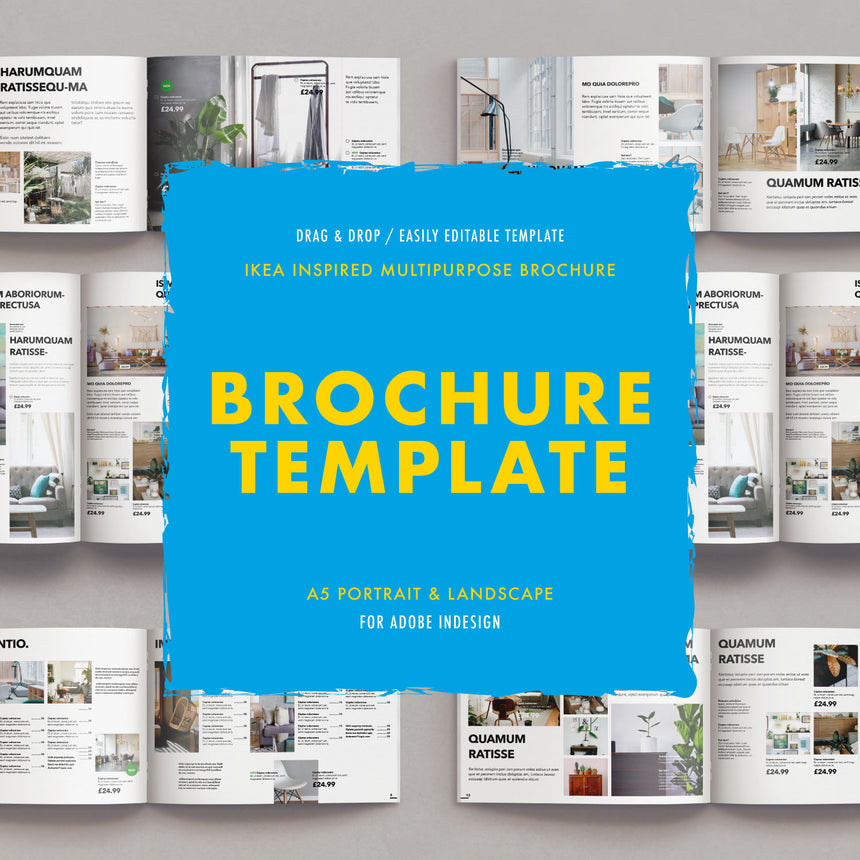 Mclean Design Co | The Nórdic Brochure Template