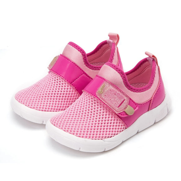 Balabala summer Children Shoes Girls Boys sneakers Antislip Soft Bottom Kids Baby Casual Flat footwear Mesh Loafers shoe