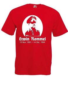 Erwin Rommel I Spells I Fun I Funny Cotton Men Classical 2019 Hip Hop Street Wear Clothing Personalized Shirts