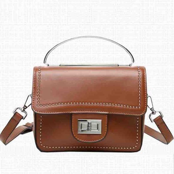 2020 New Design Genuine Leather Women Handbag Casual Fashion Single Shoulder Bag Ladies High Quality Cow Boston Crossbody Bag