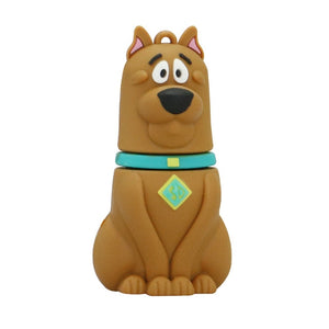 Hot Sale USB Flash Drive Dog Pen drive 128gb 64gb 4gb 256 gb 32GB 16GB 8GB Pendrive Memory Stick U Disk Lovely Animal Gift
