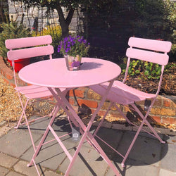 Complete Garden 2-Seater Set Pink