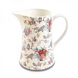 Owl design print jug one pint
